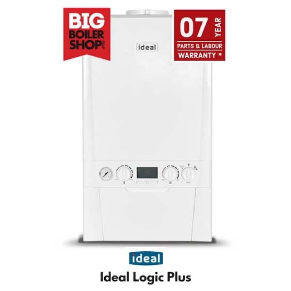 ideal logic plus 24 30 35kw combi boiler fully installed. Black Bedroom Furniture Sets. Home Design Ideas