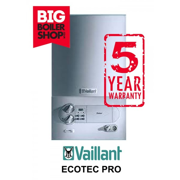 VAILLANT ECOTEC PRO 28KW, FULLY INSTALLED COMBI BOILER, 5 YEAR WARRANTY