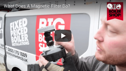 magnetic filter on a new boiler